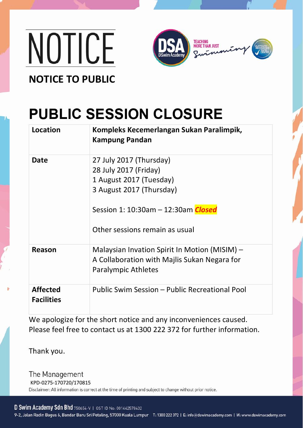 Public-Closure-MISIM