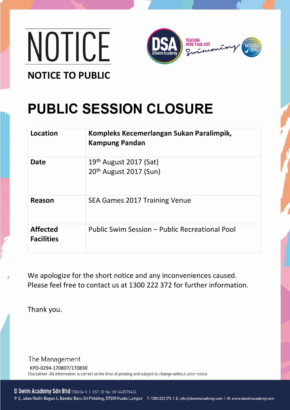 Public-Closure-SEA-Games