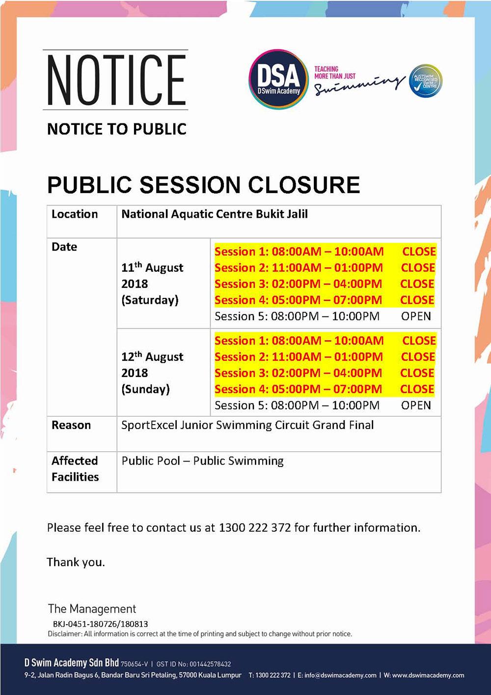 Public-Closure